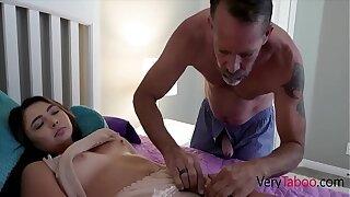 Perverted Dad Puts Daughter Through Physical t.- Dakota Knight