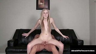 Happy 19 yo Teen Ava Anal Gets Butthole Gaped Pounded & Cummed Inside!
